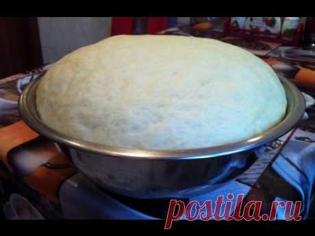 Дрожжевое Тесто на Сыворотке / The Dough on the Serum / Простой Пошаговый Рецепт Теста