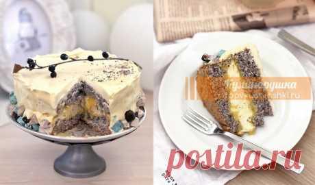 ЭТО НЕ ПРОСТО ТОРТ С МАКОМ. РАЙСКОЕ НАСЛАЖДЕНИЕ Невероятно вкусный нежный торт!