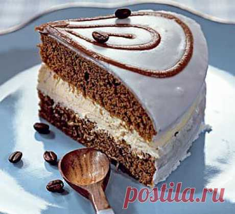 Кофейный торт, десерт.