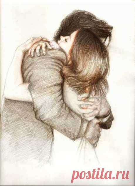Любить тебя – души необходимость…  Не только быть любимой, а любить…  Делиться счастьем – это божья милость.  Всегда важней отдать, чем получить…  Любить тебя, когда совсем не в духе…  Безмолвное присутствие спасёт,  Как только плеч твоих коснутся руки,  Два сердца окунутся, будто в мёд…  Любить тебя, когда зашкалит вредность,  Захочется послать весь мир вокруг…  Но сердце без любви страшней, чем бедность…  Ты – даже больше, чем надёжный друг…  Любить тебя за что-то неуместно…  Любовь – когда