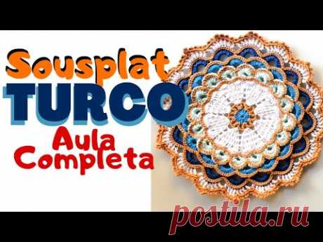Sousplat  Turco - Aula Completa