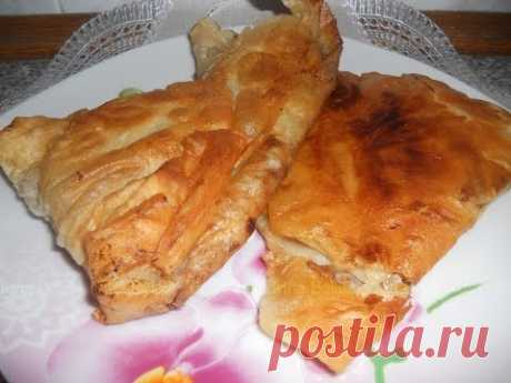 ЧЕБУРЕКИ из армянского лаваша