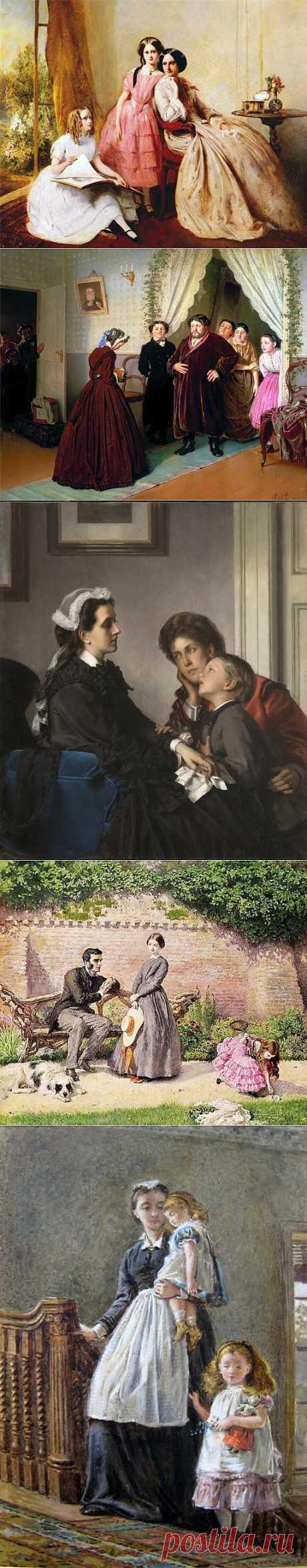 Гувернеры и гувернантки. Как наставляли дворянских детей.