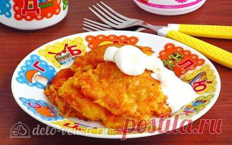 Яблочно-морковные оладьи пошаговый рецепт с фото