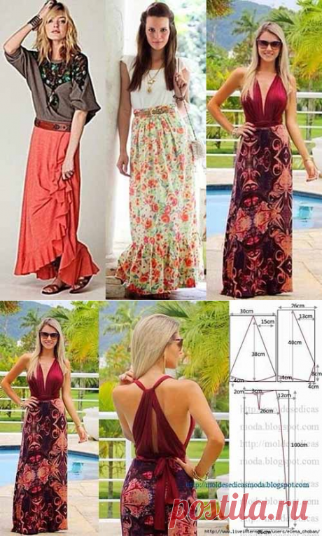 5 patterns of summer skirts