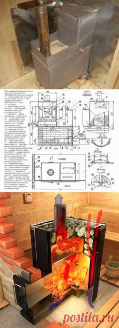 Металлические печи для бани | Стройка и ремонт
