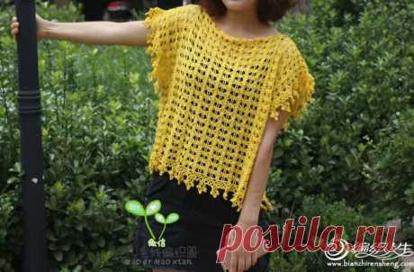 Crochet Baggy top
