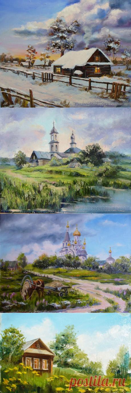 Пейзажи художницы Петерс Елизаветы.