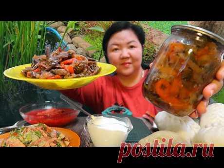 Самый вкусный Корейский салат из баклажан! Как приготовить Кади Ча на зиму По корейски вкусно!