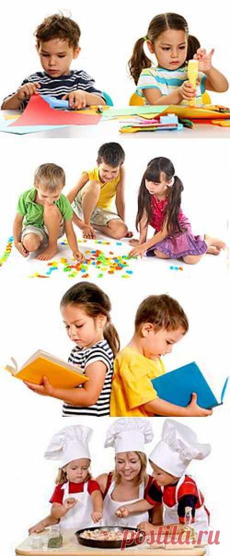 Развитие ребенка, развивающие игры для детей - Детские уроки - игры, поделки, оригами, аппликации
