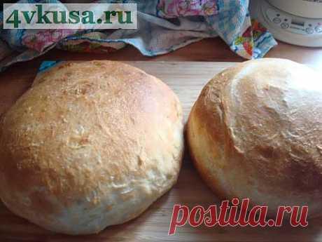 Пшеничный хлеб (бабушкин рецепт) | 4vkusa.ru