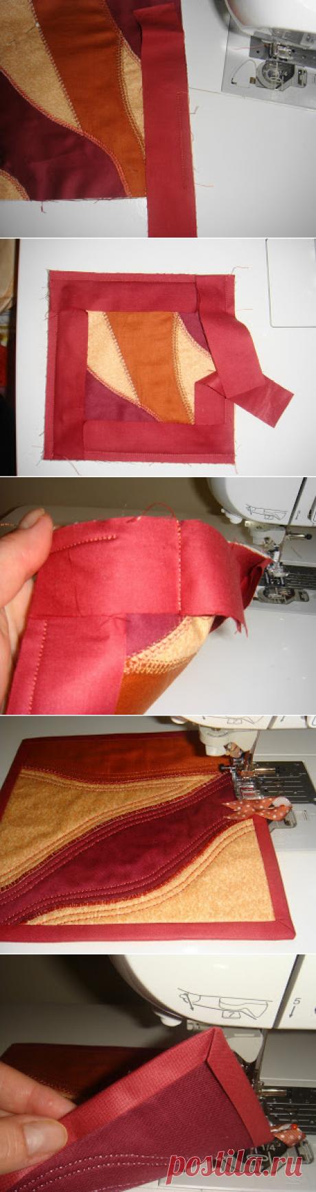 Как полюбить пришивать бейку