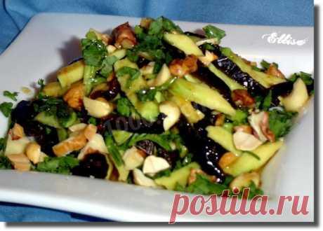 La ensalada la receta magra del aguacate de la foto poshagovo - 1000.menu
