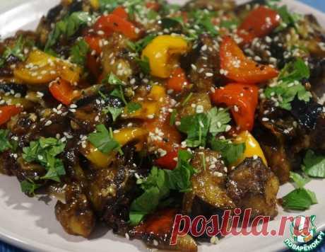 Баклажаны в кисло-сладком соусе – кулинарный рецепт