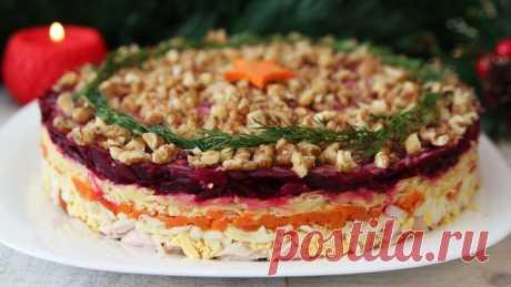 Шикарный салат к новому году генерал – пошаговый рецепт с фотографиями