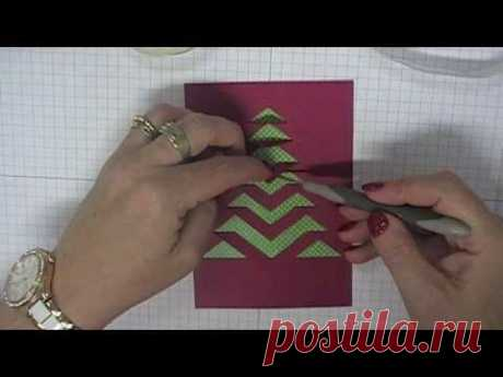 Stamping T! - Lace Xmas Tree