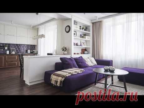 Интерьер трехкомнатной квартиры. Дизайнеры: Виктория и Алексей Осейко