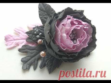 Цветы из фоамирана /Украшение для волос /Заколка/Повязка/Ободок