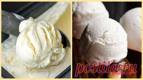 Простой рецепт мороженого. Безупречно вкусное кремовое мороженое