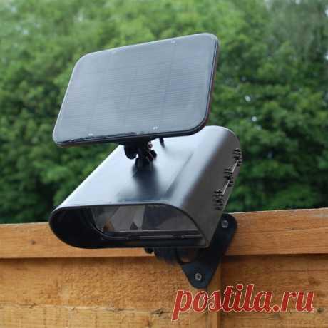 Садовые фонарики на солнечных батареях ⋆ DomaStroika.com
