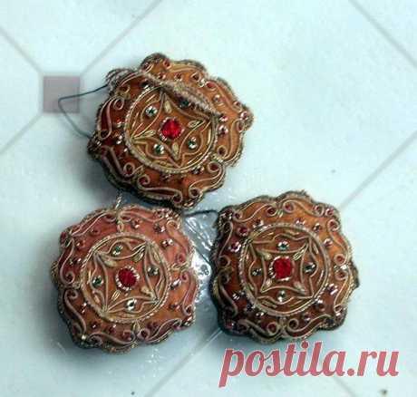 Индийская вышивка Zardozi. – Мир вязания и рукоделия