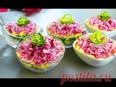 """НОВИНКА !!! Салат """"ЛЮБИМАЯ ДОЧКА"""" !!! Простой, экономный и вкусный салатик"""