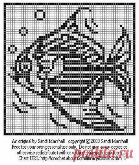 ракушки на филейном полотне схемы: 9 тыс изображений найдено в Яндекс.Картинках