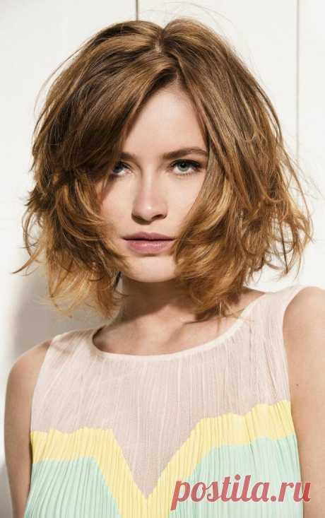 Женские стрижки на средние волосы: 260 фото разных видов с названиями