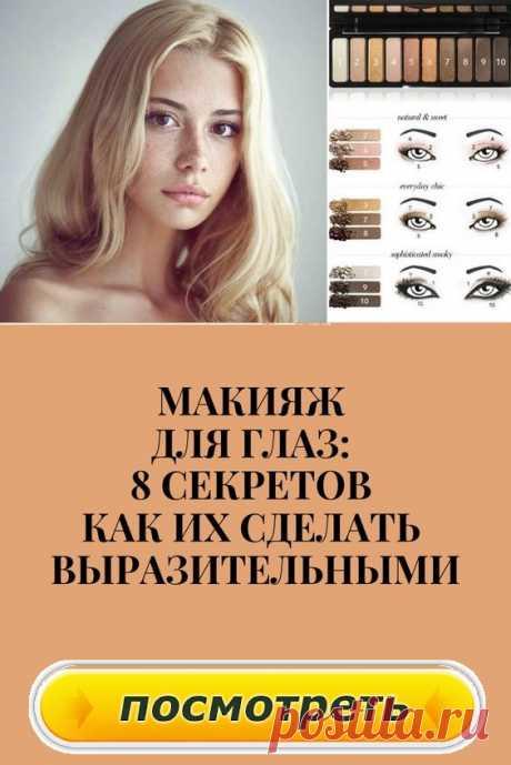 Второй способ, придающий выразительность взгляду-это макияж межресничного пространства.  Грубо говоря, это продолжение макияжа ресниц, только другими продуктами.