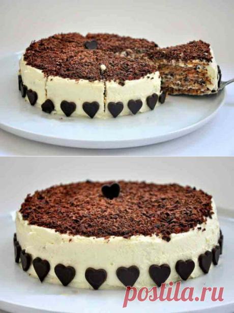 Рецепт привезла моя подруга. Итальянский ореховый торт