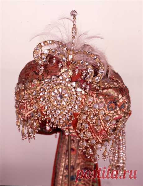 Тюрбанные индийские украшения
