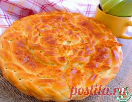 Пирог с молодой капустой и сметаной – кулинарный рецепт