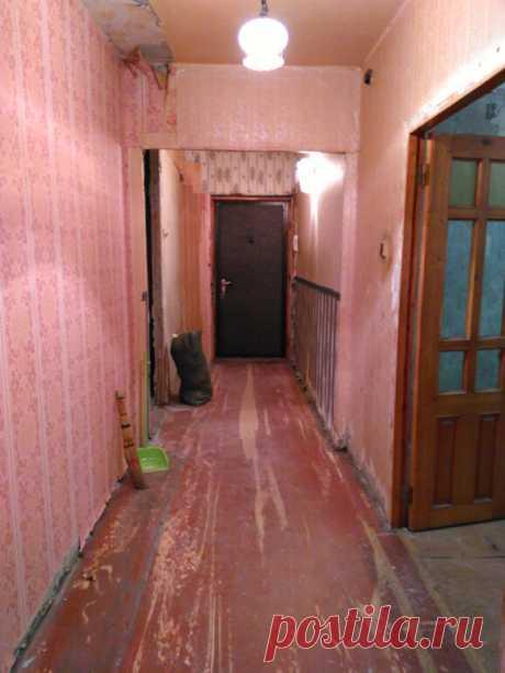 Убитую прихожую - коридор превратили в конфетку до и после Просто небо и земля | Как живут другие | Яндекс Дзен