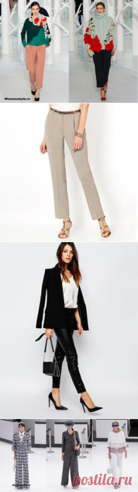 Какими будут модные брюки 2016 года