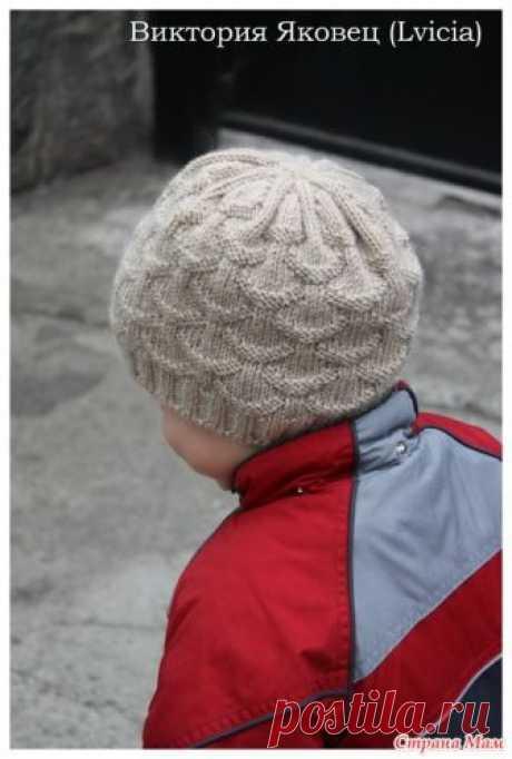 """Вяжем вместе шапочку """"Ракушки"""" (Shells hat) Доброго времени суток!  Недавно показывала шапочку """"Ракушки"""", которую вязала для младшего сыночка. https://www.stranamam.ru/"""