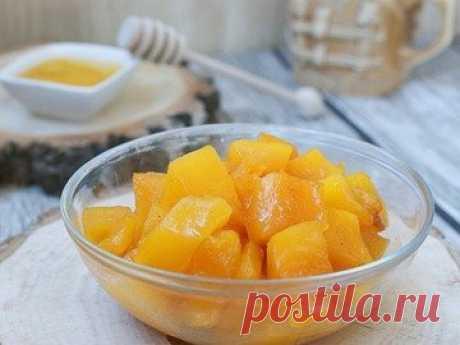Медовая тыква в мультиварке - простой и вкусный рецепт с пошаговыми фото