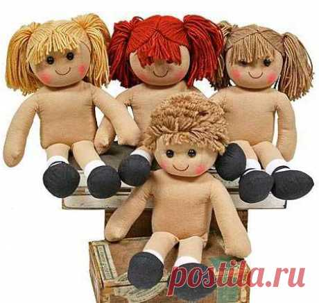 Как сделать волосы для куклы своими руками: мастер-класс. Как пришить волосы кукле - FB.ru