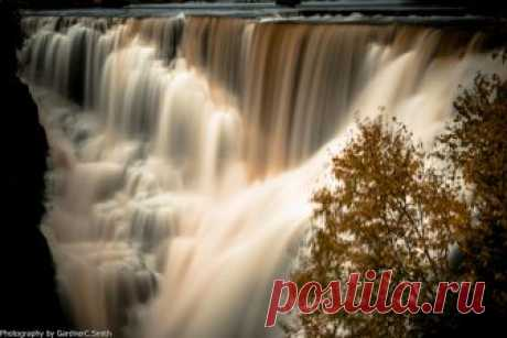Kakabeka Falls, Kakabeka, Ontario   The iron stained water o…   Flickr