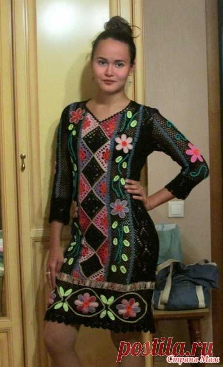 . Платье перуанские мотивы - Вязание - Страна Мам