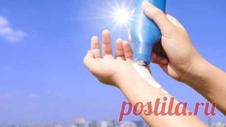 12 ошибок при использовании солнцезащитного крема