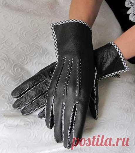 Как сшить длинные перчатки — ручная работа из кожи мастер класс | Мой Милый Дом - хенд мейд идеи рукоделия и дизайна