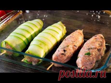 Кабачки в духовке с фаршем - удивите своих гостей потрясающим блюдом! | Appetitno.TV
