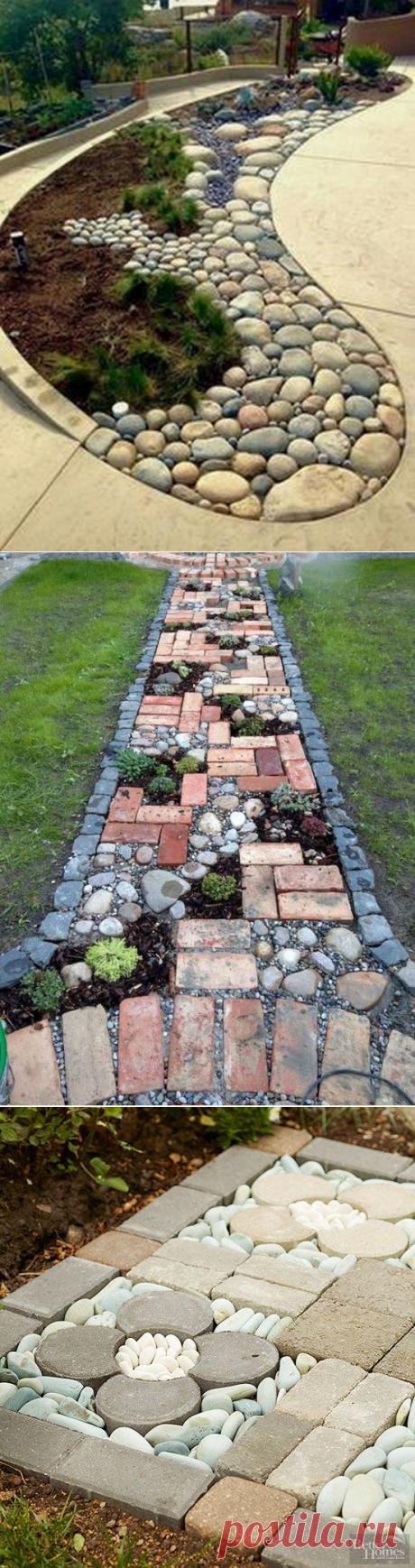 Идеи с камнями для дачи или частного дома — DIYIdeas