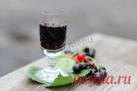 Настойка из черной смородины на водке рецепт с фото - 1000.menu