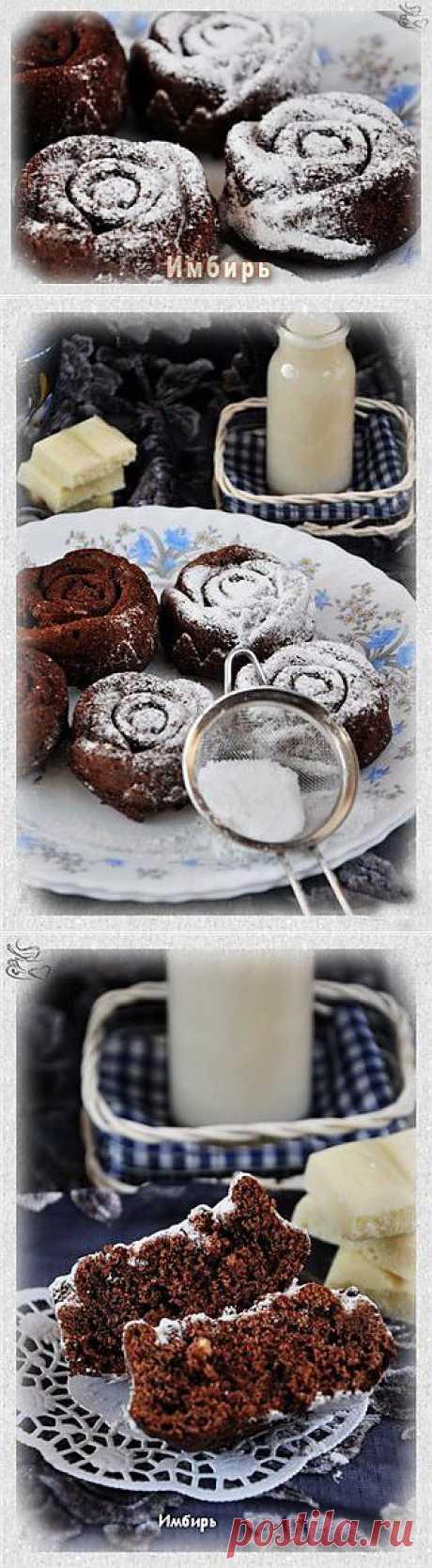 Двойные шоколадные кексы : Простые рецепты для вкусной жизни