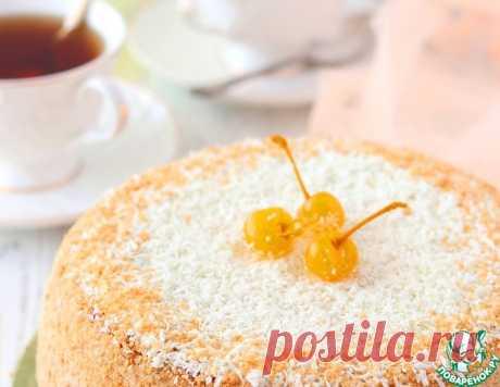 Торт домашний творожно-вишневый – кулинарный рецепт