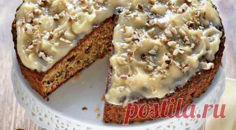 Морковный торт с грецкими орехами — самая «здоровая» выпечка — Фактор Вкуса