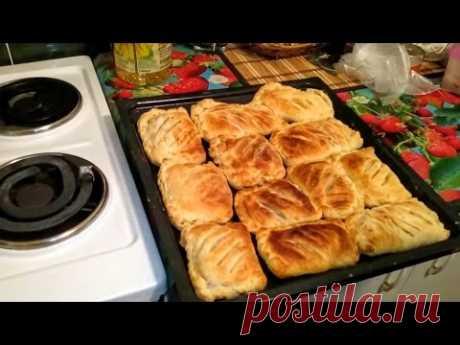 Пирожки Расстегай с рыбой рецепт в духовке (русская кухня) из теста Что приготовить на ужин вкусно - YouTube