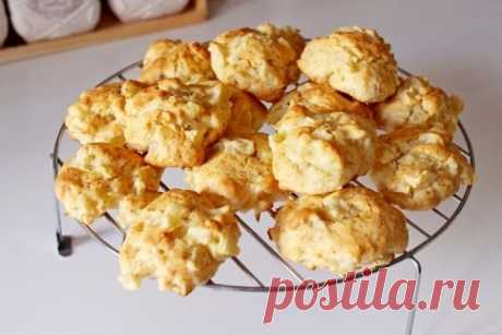 Простое и необыкновенно вкусное печенье «Яблочко»