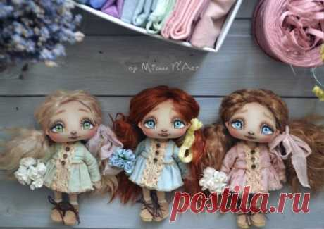 Куклы Миланы Баратовой   all Dolls